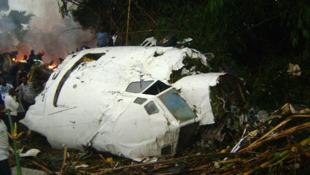 cruch d'un avion en RDC