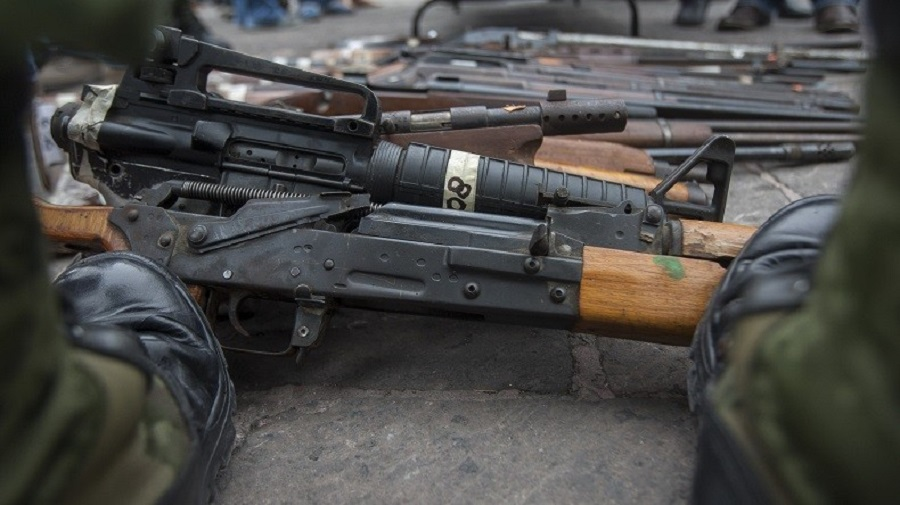 fusils d'assaut