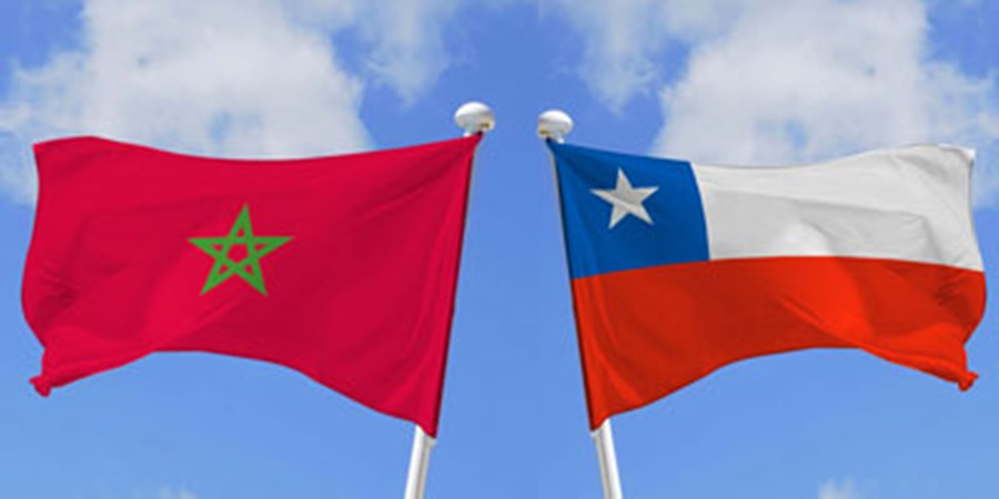 Le Maroc et le Chili affirment leur volonté de renforcer les relations bilatérales et de diversifier la coopération