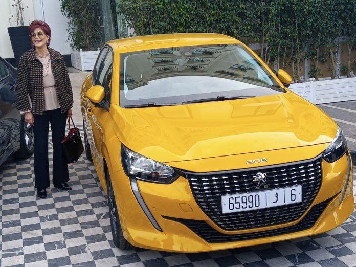 Peugeot 208 la championne de la 11ème édition des trophées de l'automobile
