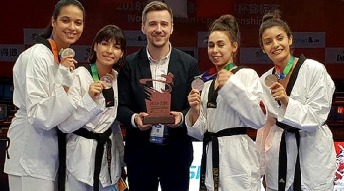 taekwondoïstes