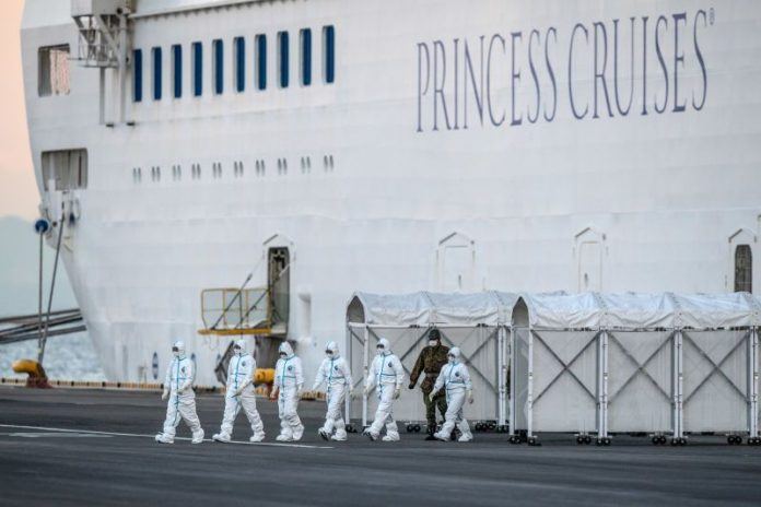 67 nouveaux cas de coronavirus dans le navire de croisière japonais