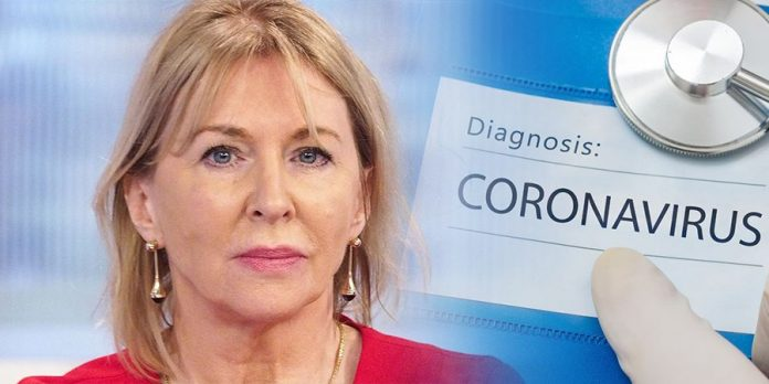 La ministre de la Santé testée positive au Coronavirus — Grande Bretagne