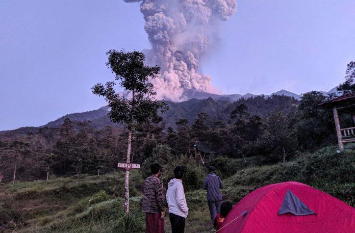 volcan Merapi