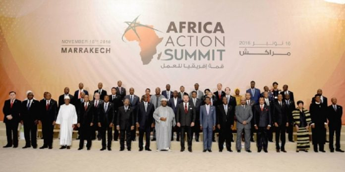 Sommet africain de Marrakech
