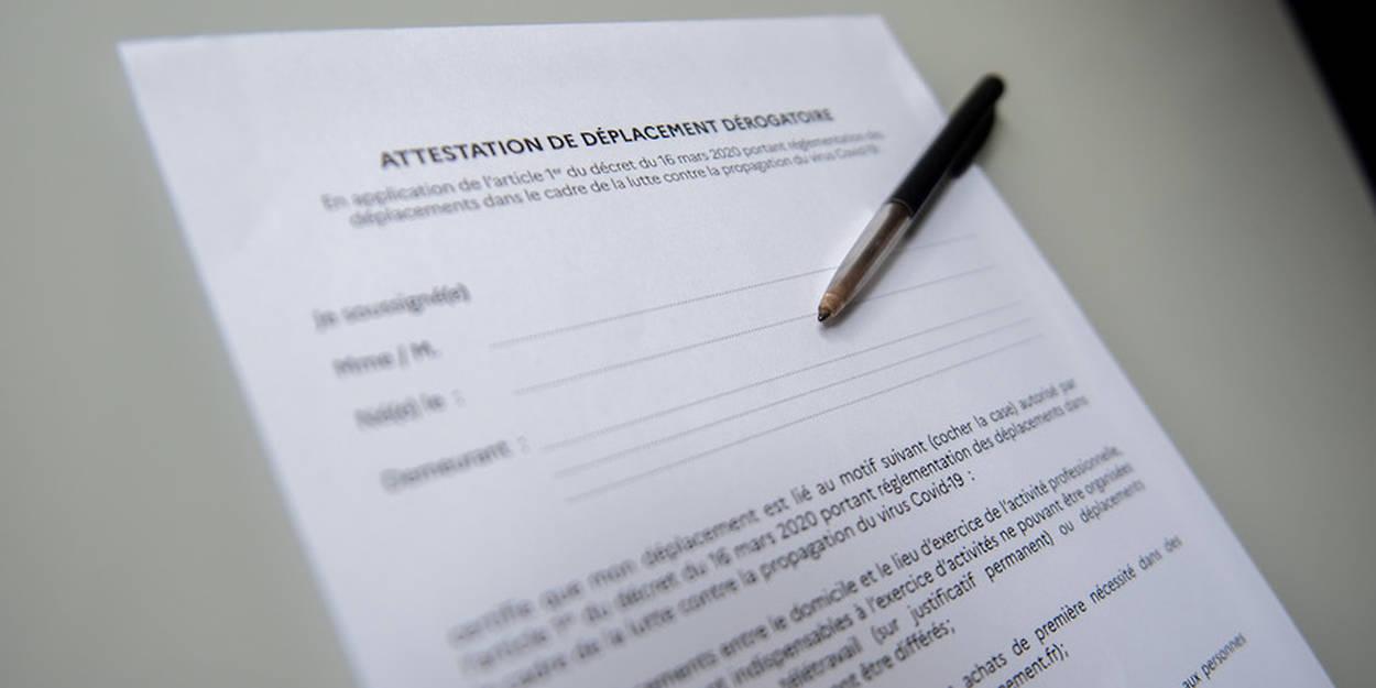 France Confinement Nouvelle Attestation De Deplacement Numerique Des Lundi