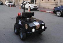 robot policier
