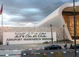 l'Aéroport de Marrakech-Menara