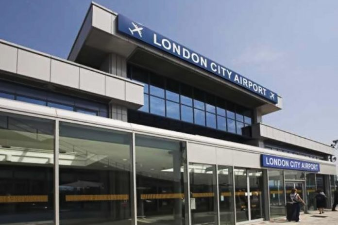 l'aéroport London City
