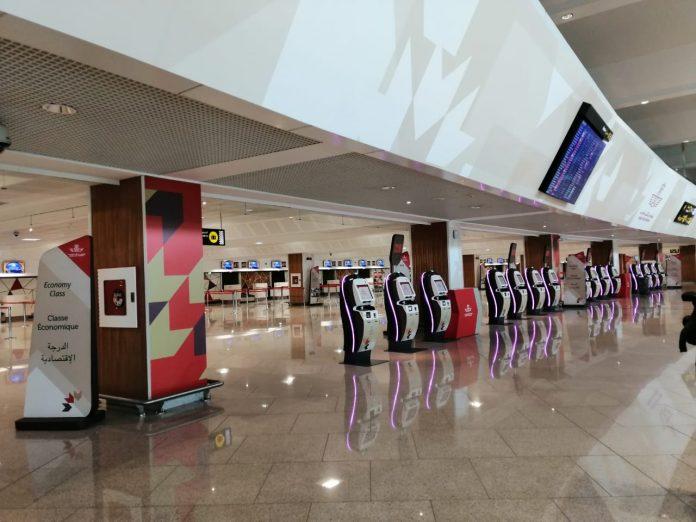 l'aéroport Mohammed V