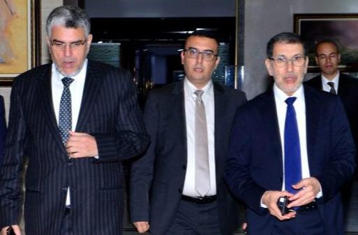 El Otmani, Ramid et Amekraze