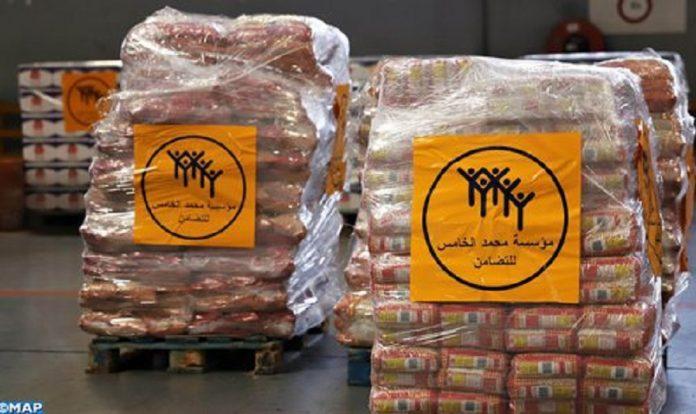 La fondation Mohammed V pour la solidarité entame l'envoi d'aides alimentaires au Liban