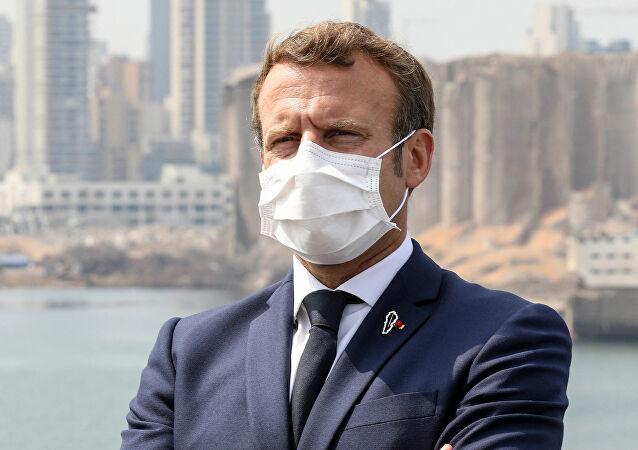 Macron -Liban