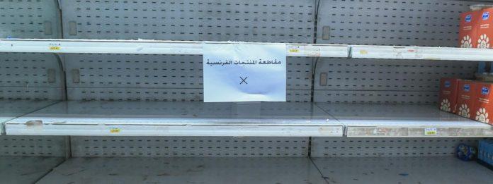 boycott des produits français