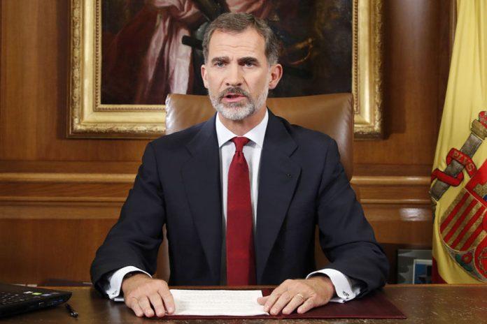 Roi Felipe VI d'Espagne