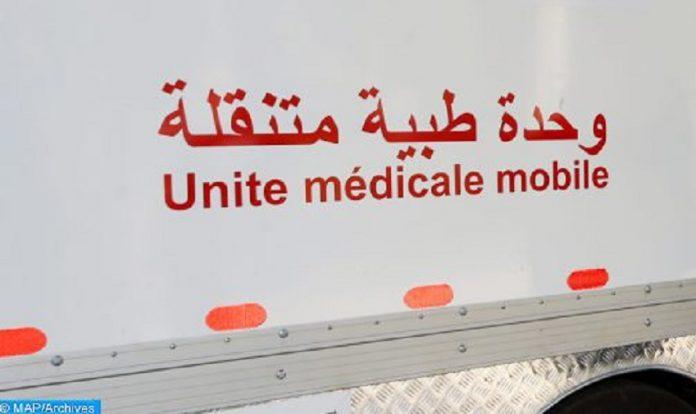 Une unité médicale mobile fait escale à Aït Bouguemez