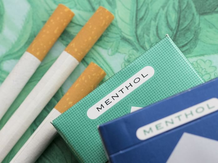 cigarettes mentholées