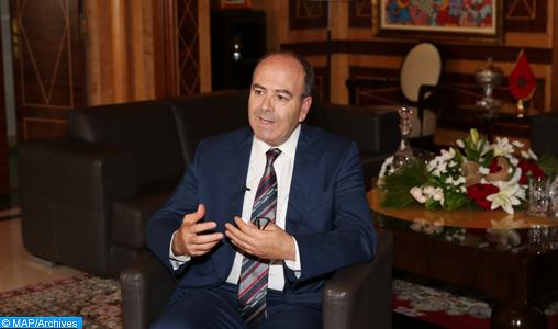 Le président de la Chambre des conseillers, Hakim Benchamach