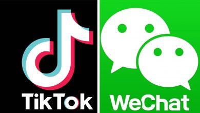 TikTok et WeChat