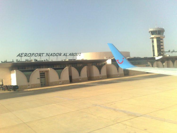 l'aéroport Nador-El Aroui