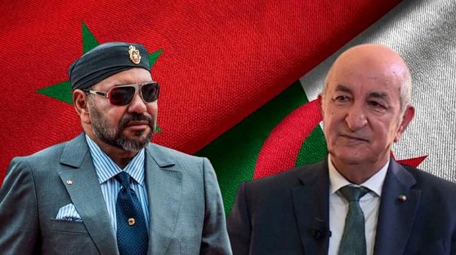 le Roi Mohammed VI et le président algérien