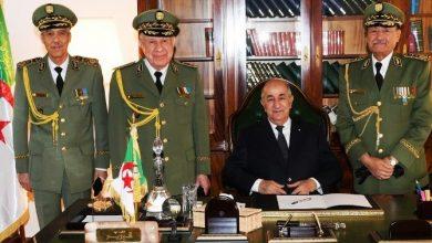 Tebboune et ses généraux