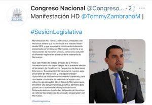 twitter congreso nacional