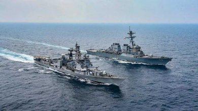 exercice naval